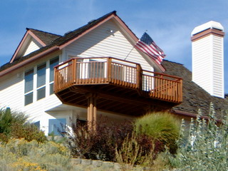 boise idaho composite or wood deck design and construction